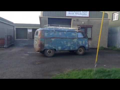 A Visit From The Oldest Rhd Vw Split Screen Barndoor Bus In The