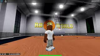 my roblox trick shot on rb world 2