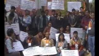 Protest March - Protest against HUDA and Faridabad Neharpar Builders