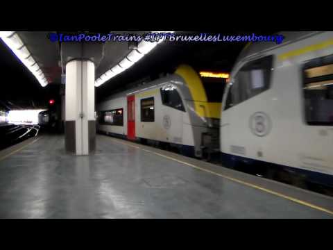 Season 8, Episode 196 - Trains at Bruxelles Luxembourg station