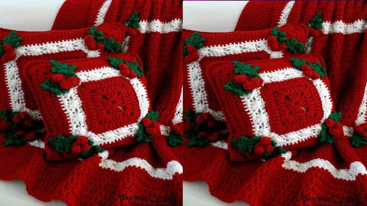 Tejidos a crochet para navidad youtube - Manualidades de ganchillo para navidad ...