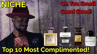 Top 10 Most Complimented Fragrances Niche Edition! Best Colognes!