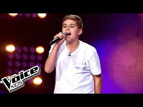 """Krystian Koronka - """"Mama"""" - Przesłuchania w ciemno - The Voice Kids Poland 2"""