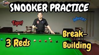 Snooker Practice | 3 Reds Break Building | Snooker Lesson