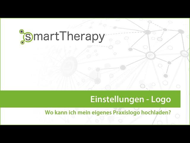 smartTherapy: Einstellungen Logo