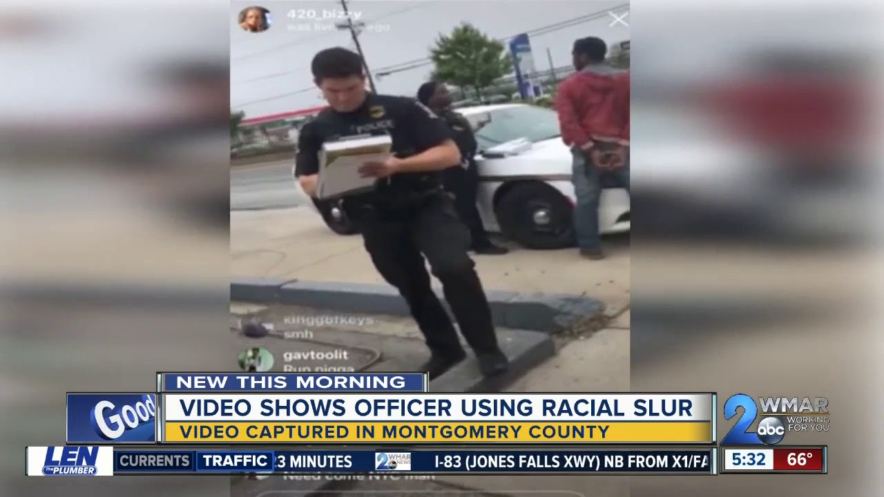 Montgomery County Traffic Cameras >> Montgomery County Police Officer Caught On Camera Using Racial Slur