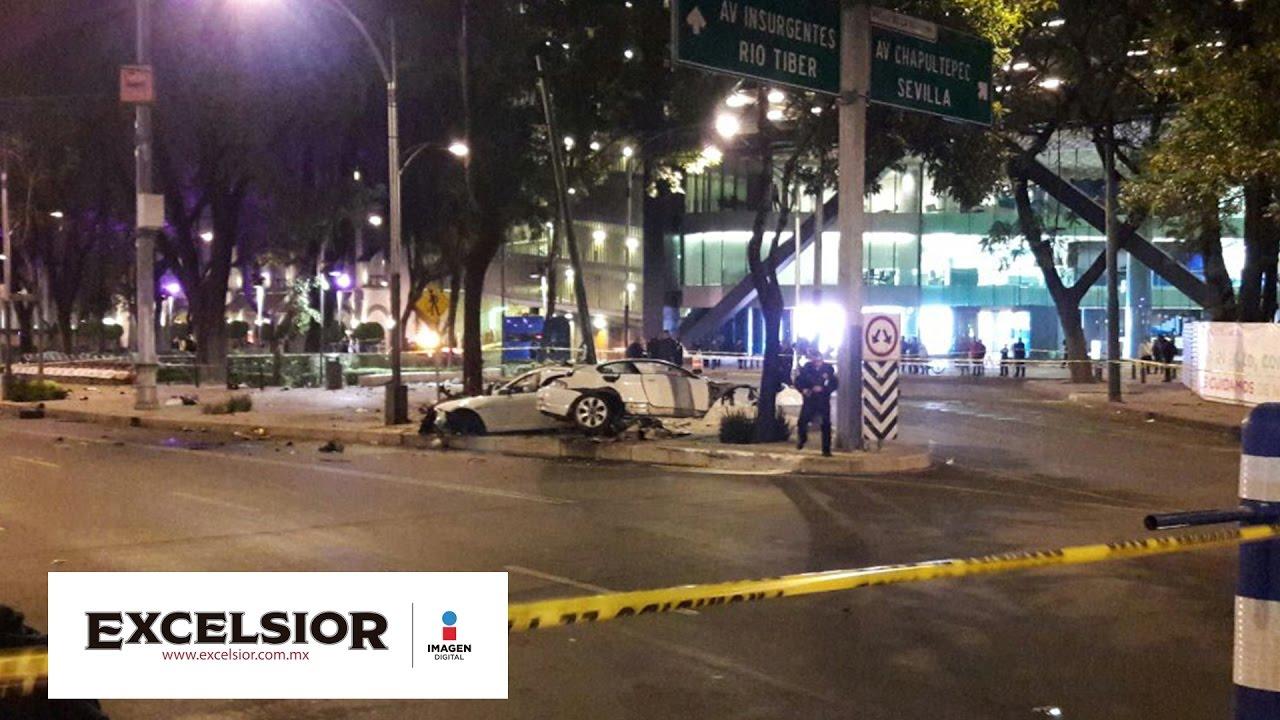 Mueren cuatro al chocar auto de lujo en Paseo de la ... - photo#29