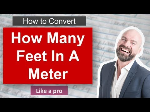 How Many Feet In Meter