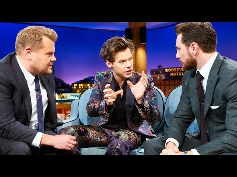 Harry Styles Awkwardly CRINGES Over Kendall Jenner Sex Joke On Corden