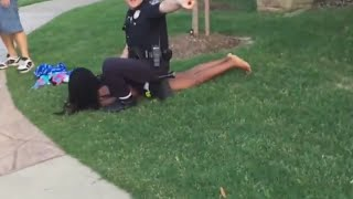 Angry cops beat black children in Texas:  Entirely unacceptable