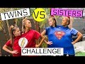 Ultimate CONJOINED TWINS Challenge - Big sisters vs little sisters!