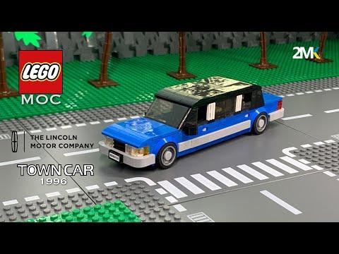 ЛЕГО самодельный лимузин    Lincoln Town Car 1996    Lego Limousine MOC