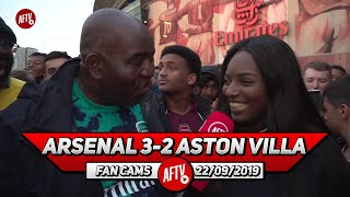 Arsenal 3-2 Aston Villa | Emery Needs To Focus On Playing Attacking Football! (Pippa Monique)