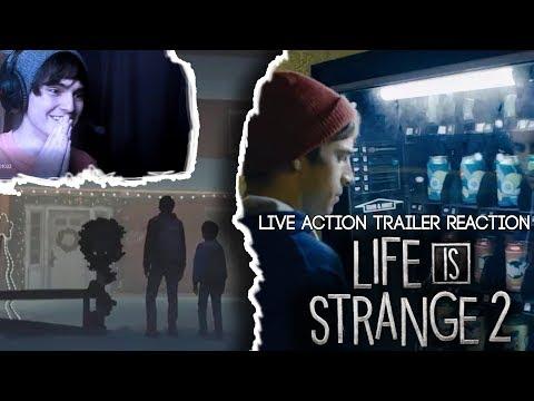 Life is Strange 2 - Episodio 2 Live Action- Trailer + Fecha De Lanzamientol! [Reaction| Español]