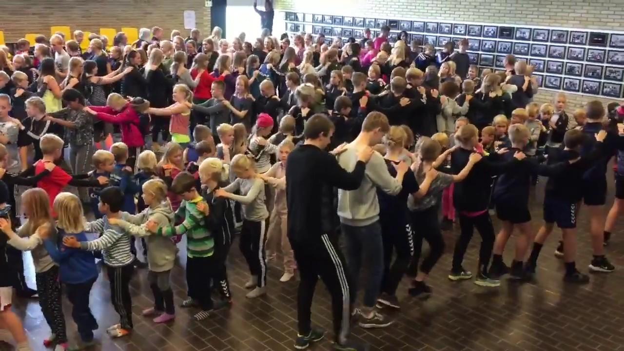 Jenka Dans - rekordforsøg Molsskolen - motionsdag 2017