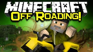 Minecraft ATV MOD Spotlight! - All Terrain Vehicles! (Minecraft Mod Showcase)
