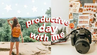 Productive Day with Me! // summer edition