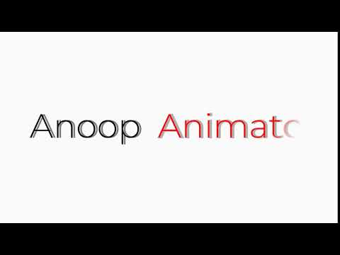 2D Text Reveal Animation In Blender 2.8x