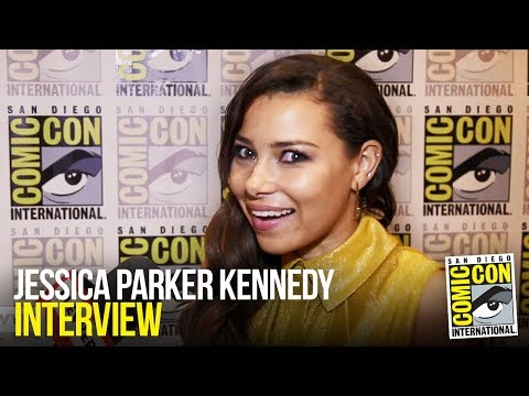Jessica Park Kennedy Excited for More Nora Allen in The Flash Season 5  Comic Con 2018