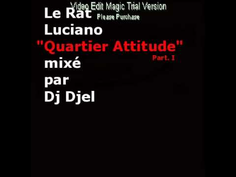 Youtube: Le Rat Luciano – QUARTIER ATTITUDE MIXTAPE « BEST OF » PART. I  ( DJ DJEL ) (4.30 a 14.00 min)