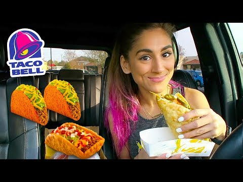 TACO BELL MUKBANG & LIFE UPDATES | SPICY DOUBLE CHALUPA BOX