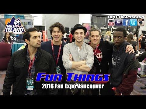 Fun Things: 2016 Fan Expo Vancouver
