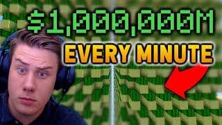 This Skyblock CACTUS FARM makes me $1 MILLION every minute | Minecraft Skyblock