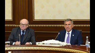 Президент Узбекистана принял главу Татарстана