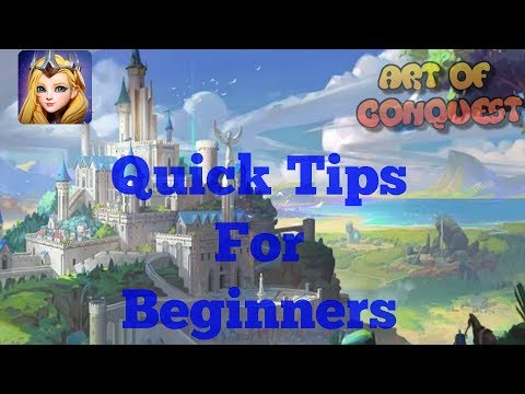 Art Of Conquest -Tips & Tricks For New Players | Join My House!