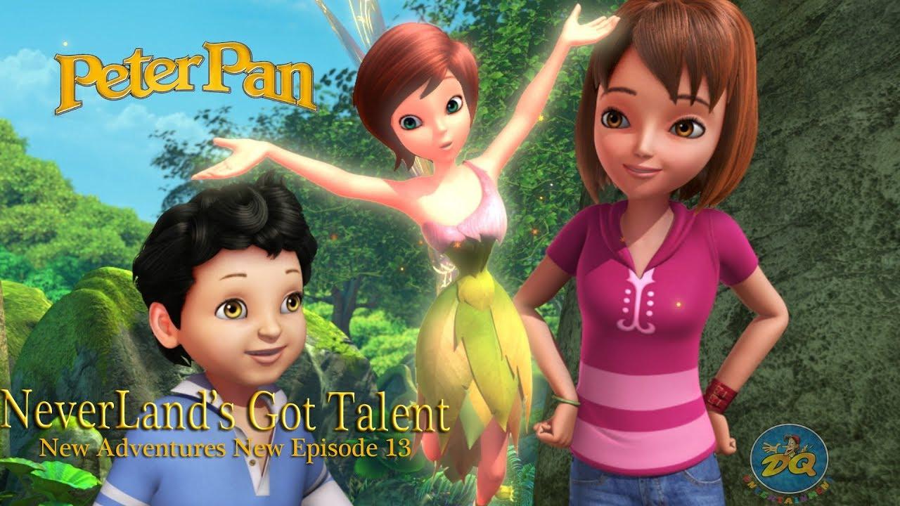 Peter Pan Season 2 Episode 14 Never Land Got Talent | Cartoon For Kids |  Video | Online