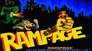 Arcade Perfect? - My Arse!! - Rampage