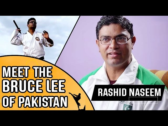 Meet Rashid Naseem - The Bruce Lee Of Pakistan