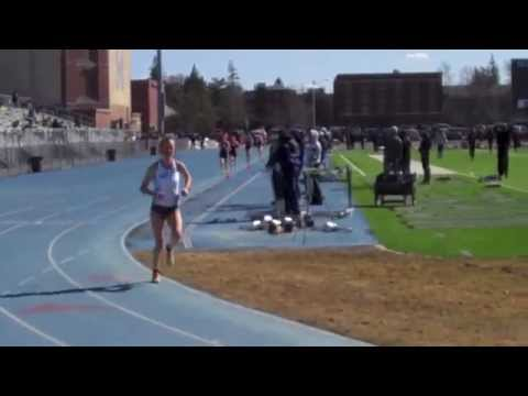 Maine Track vs UNH and Bates
