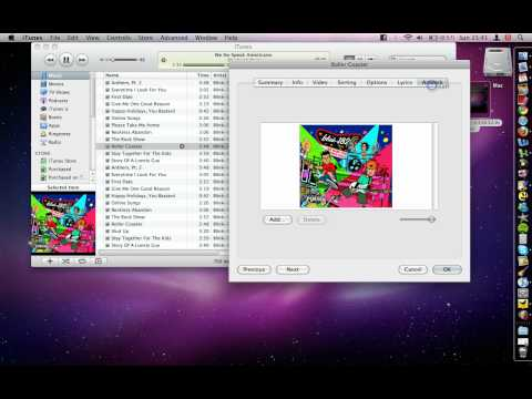 iTunes - How To Remove Album Art From A Song