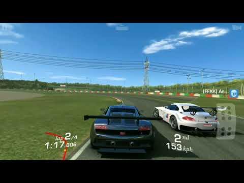 REAL RACING 3 LAMBORGHINI GALLARDO LP560 GT3 RACING ON SUZUKI CIRCUIT