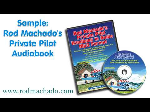 Rod Machado's Private Pilot Audiobook (MP3 Files)