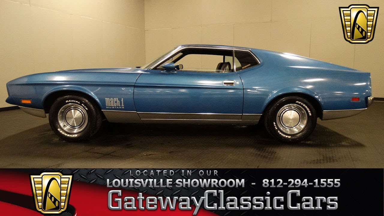 1972 ford mustang mach i louisville showroom stock 1748 youtube. Black Bedroom Furniture Sets. Home Design Ideas