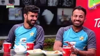 Tum Mein Aik Cup Chai Aur Cricket | Wasim Akram, Shadab Khan & Wahab Riaz | PAKvSL 2019