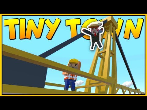 THE GREAT CONSTRUCTION SITE CONSPIRACY - Tiny Town VR Gameplay - VR HTC Vive