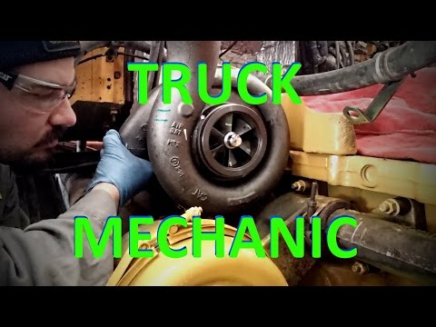 A Day In The Life Of A Truck Mechanic.  Heavy Duty Truck Die