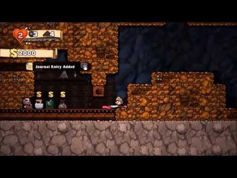 Spelunky: The Woman, The Snake And The Merchant Funny Moments And More!