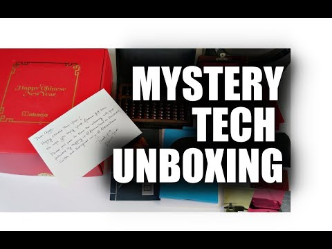 Mystery Unboxing Surprise Chinese New Year Tech Gift Box