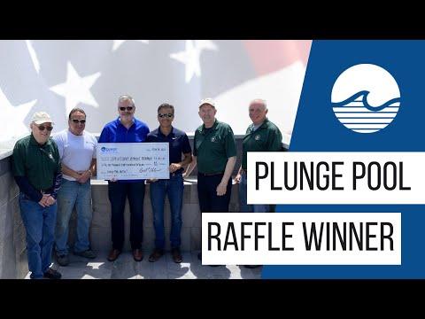 Plunge Pool Raffle Winner Announced!