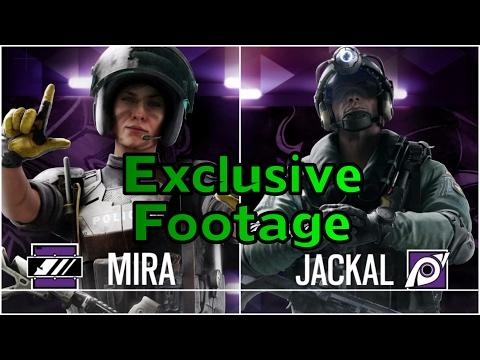 Amazing Mira & Jackal Tricks - Exclusive Rainbow Six Siege Operation Velvet Shell Gameplay Coastline