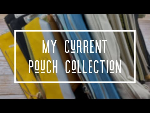 my-current-pouch-collection-*-pencil-pouches-&-pen-cases-for-journaling-supplies