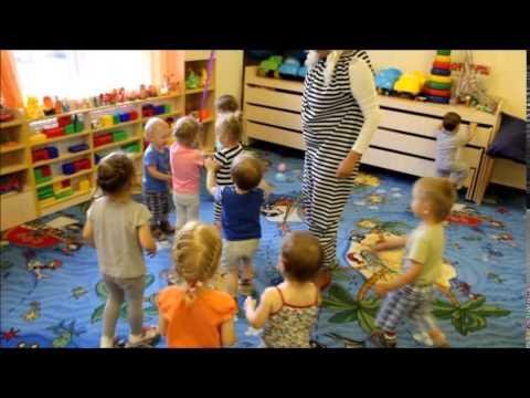 """Частный детский сад""""В гостях у Солнышка"""" Развлечение в яслях"""