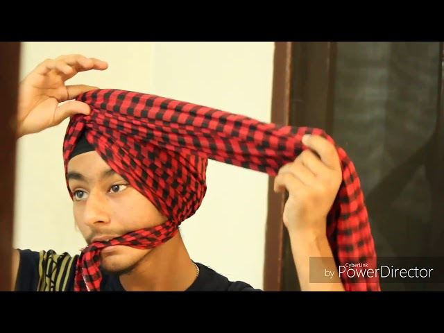 How to tie a parna (Dabia wala)[ ft harman khokher ]