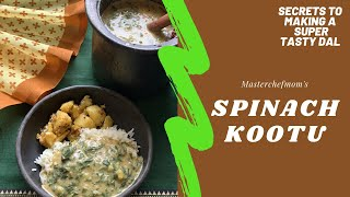How I Made Spinach Dal Tasty  | Healthy Spinach Kootu | How to Cook in Manipur Pottery