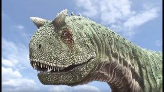 Carnotaurus VS edmontonia (dinosaures) - ZAPPING SAUVAGE