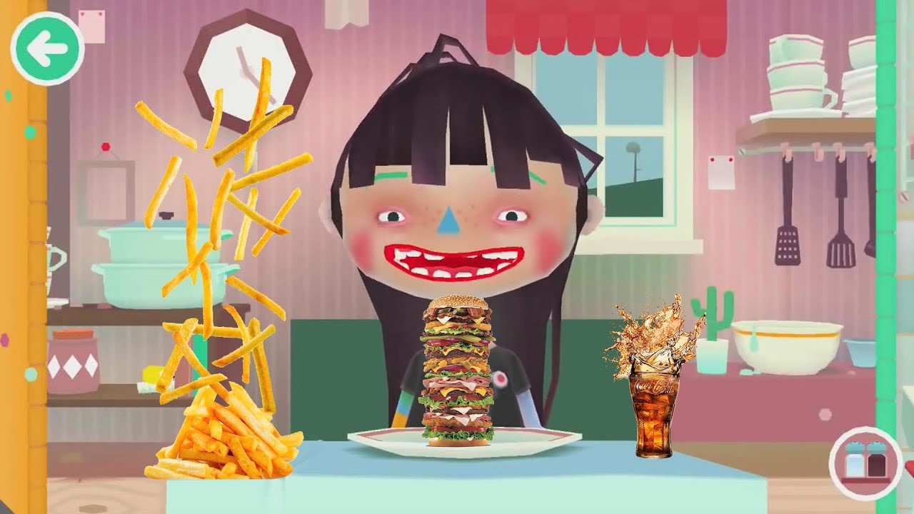 Toca: kitchen 2 iphone game free. Download ipa for ipad,iphone,ipod.